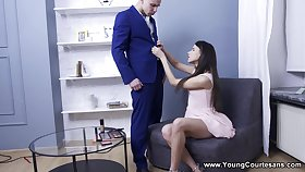 Young Courtesans - Emily Wilson - Teen courtesan hungry for cum