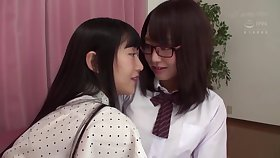 Japanese brunettes arent lesbians, but they like close to beg love helter-skelter each other, quite unendingly