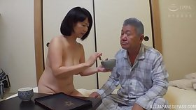 Sweltering Kanasugi Rio moans while bringing off with her tight vagina