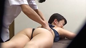 Massage leads to passionate copulation with a Japanese amateur. HD