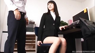 Asian babe Kitagawa Yuzu rides a dick like her life depends on it