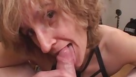 Mommy unpaid sex wife gives head with ejaculate