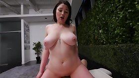Sensual Heavy-Breasted Plumper Porn Video