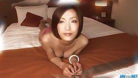 Showman porn adventure with peachy tits, Nene Iino